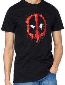 Camiseta de logo de Deadpool - Las mejores camisetas de Deadpool - Camisetas de Marvel