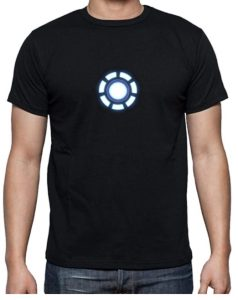 Camiseta de logo de Iron man - Las mejores camisetas de Iron man - Camisetas de Marvel Ironman