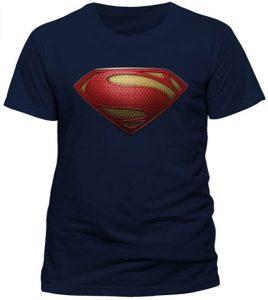 Camiseta de logo de Superman Man of Steel- Las mejores camisetas de Superman - Camisetas de DC