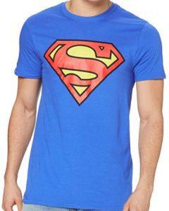 Camiseta de logo de Superman azul clara - Las mejores camisetas de Superman - Camisetas de DC