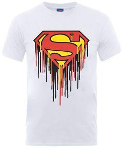 Camiseta de logo de Superman derretido - Las mejores camisetas de Superman - Camisetas de DC