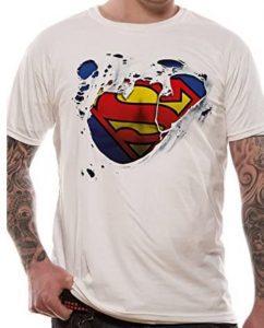 Camiseta de logo de Superman diseño - Las mejores camisetas de Superman - Camisetas de DC