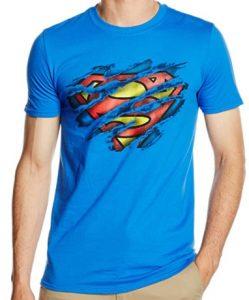 Camiseta de logo de Superman rasgado - Las mejores camisetas de Superman - Camisetas de DC