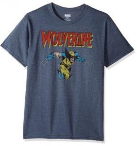Camiseta de logo de Wolverine - Las mejores camisetas de Lobezno - Wolverine - Camisetas de Marvel