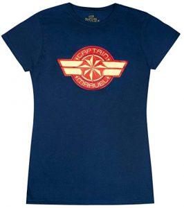 Camiseta de logotipo de Capitana Marvel - Las mejores camisetas de Capitana Marvel - Camisetas de Marvel