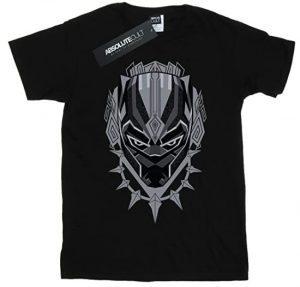 Camiseta de máscara de Black Panther - Las mejores camisetas de Black Panther - Camisetas de Marvel