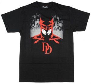 Camiseta de máscara de Daredevil - Las mejores camisetas de Daredevil - Camisetas de Marvel