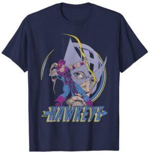 Camiseta de máscara de Hawkeye - Las mejores camisetas de Hawkeye - Ojo de Halcón - Camisetas de Marvel