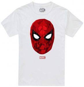 Camiseta de máscara de Spiderman - Las mejores camisetas de Spiderman -Spider-man - Camisetas de Marvel