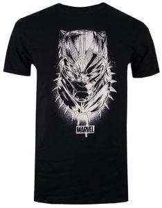 Camiseta de mask 2 de Black Panther - Las mejores camisetas de Black Panther - Camisetas de Marvel