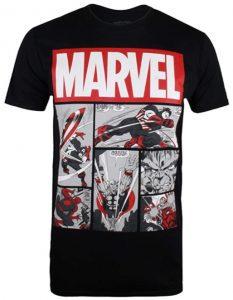 Camiseta de momentos del Capitán América de los cómics - Las mejores camisetas del Capitán América - Camisetas de Marvel