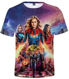 Camiseta de personajes de Capitana Marvel - Las mejores camisetas de Capitana Marvel - Camisetas de Marvel
