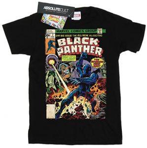 Camiseta de portada de comic de Black Panther - Las mejores camisetas de Black Panther - Camisetas de Marvel