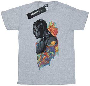 Camiseta de pose de Black Panther - Las mejores camisetas de Black Panther - Camisetas de Marvel