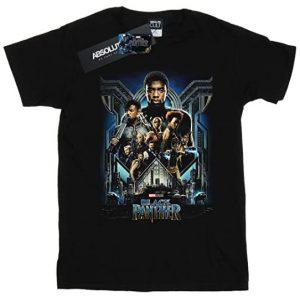 Camiseta de poster de Black Panther - Las mejores camisetas de Black Panther - Camisetas de Marvel