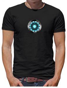 Camiseta de reactor de Iron man - Las mejores camisetas de Iron man - Camisetas de Marvel Ironman