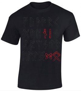 Camiseta de runas nórdicas de Thor - Las mejores camisetas de Thor - Camisetas de Marvel