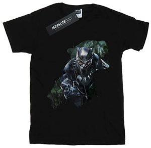 Camiseta de silueta de Black Panther - Las mejores camisetas de Black Panther - Camisetas de Marvel