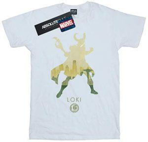 Camiseta de silueta de Loki - Las mejores camisetas de Loki - Camisetas de Marvel