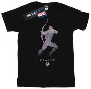Camiseta de silueta de Ojo de Halcón - Las mejores camisetas de Hawkeye - Ojo de Halcón - Camisetas de Marvel