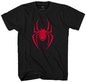 Camiseta de símbolo de Black Spiderman - Las mejores camisetas de Spiderman -Spider-man - Camisetas de Marvel