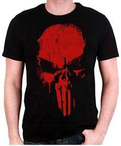 Camiseta de skull de The Punisher - Las mejores camisetas de The Punisher - Camisetas de Marvel