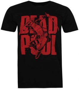 Camiseta de texto de Deadpool - Las mejores camisetas de Deadpool - Camisetas de Marvel