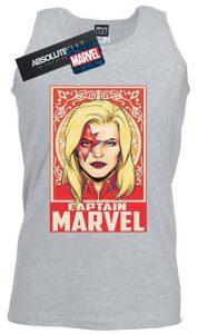 Camiseta de tirantes de Capitana Marvel - Las mejores camisetas de Capitana Marvel - Camisetas de Marvel