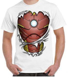 Camiseta de traje de Iron man - Las mejores camisetas de Iron man - Camisetas de Marvel