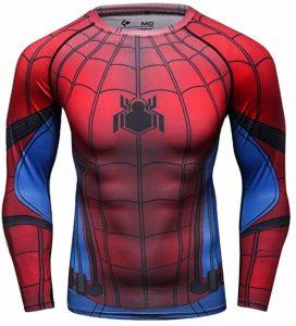 Camiseta de traje de Spiderman de manga larga - Las mejores camisetas de Spiderman -Spider-man - Camisetas de Marvel