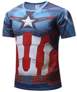 Camiseta del Capitán América cuerpo 2 - Las mejores camisetas del Capitán América - Camisetas de Marvel