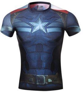 Camiseta del Capitán América cuerpo - Las mejores camisetas del Capitán América - Camisetas de Marvel