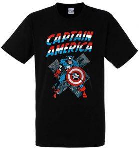 Camiseta del Captain America clásico- Las mejores camisetas del Capitán América - Camisetas de Marvel