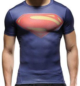 Camiseta deportiva de logo de Superman - Las mejores camisetas de Superman - Camisetas de DC