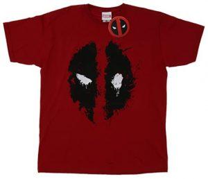Camiseta roja de Deadpool - Las mejores camisetas de Deadpool - Camisetas de Marvel