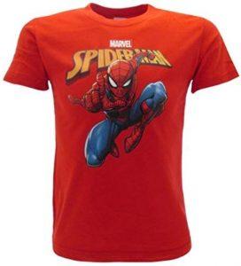 Camiseta roja de Spiderman - Las mejores camisetas de Spiderman -Spider-man - Camisetas de Marvel