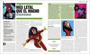 El libro de Marvel - Las mejores enciclopedias de Marvel - Ejemplo 1