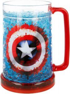Jarra del Capitán América - Las mejores tazas de Capitán América - Tazas de Marvel