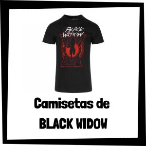 Camisetas de Black Widow