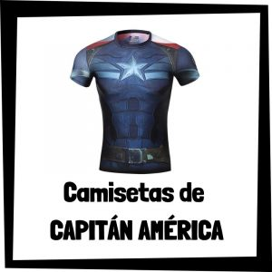 Camisetas de Capitán América