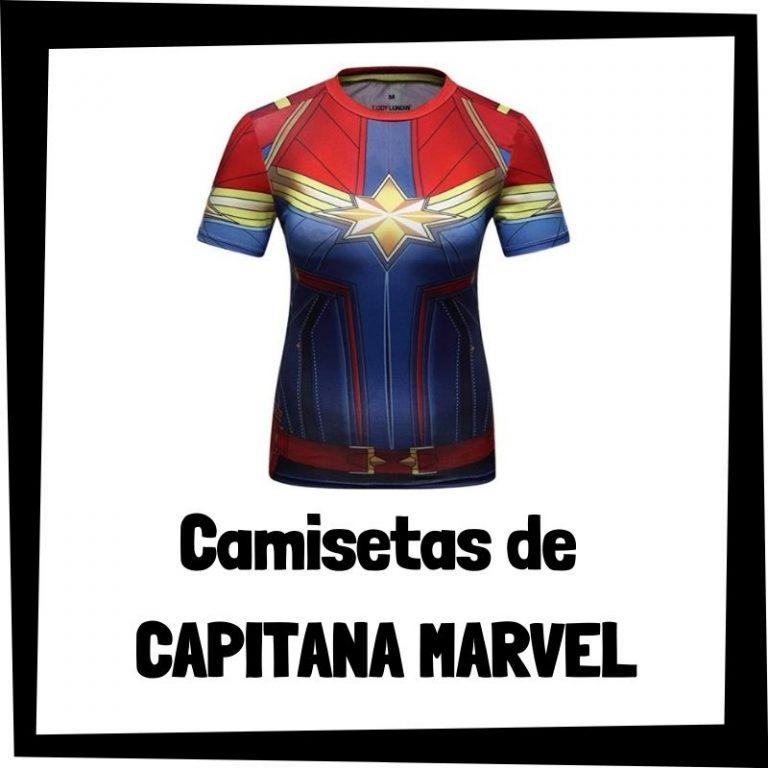 Camisetas de Capitana Marvel