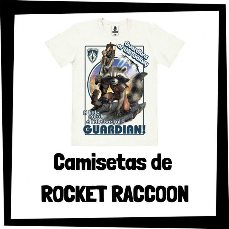 Lee más sobre el artículo Camisetas de Rocket Raccoon