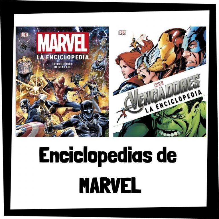 Las mejores enciclopedias de Marvel