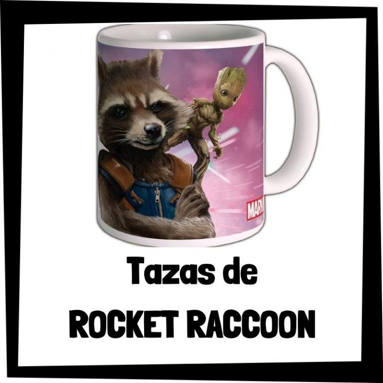 Tazas de Rocket Raccoon