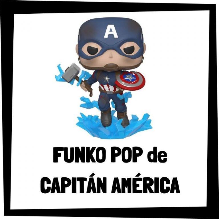 Lee más sobre el artículo FUNKO POP de Capitán América