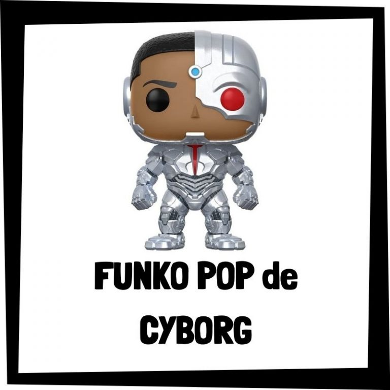 Lee más sobre el artículo FUNKO POP de Cyborg