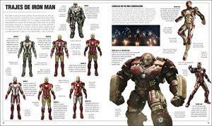 Marvel Studios El diccionario Visual - Las mejores enciclopedias de Marvel - Ejemplo 3