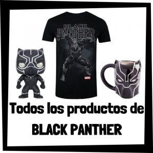 Productos de Black Panther de Marvel - Todo el merchandising de Black Panther - Comprar Black Panther