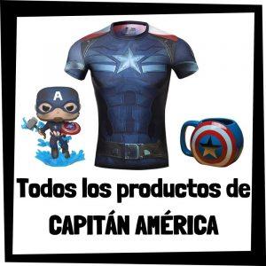 Productos de Capitán América de Marvel - Todo el merchandising de Capitán América - Comprar Capitán América