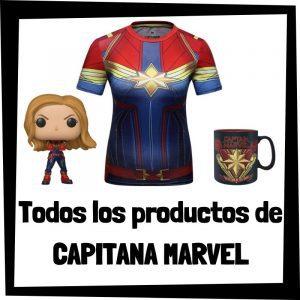 Productos de Capitana Marvel de Marvel - Todo el merchandising de Captain Marvel - Comprar Carol Danvers